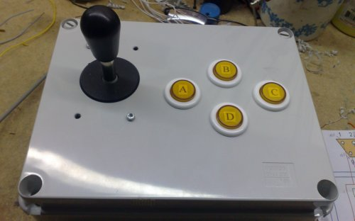 Il joystick di Captain N