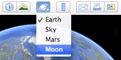 Moon toolbar