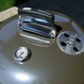 Coperchio con maniglia, termometro e bocchetta di ventilazione superiore