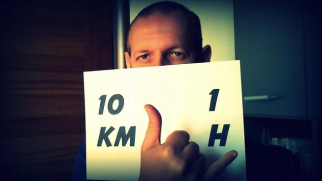 10km 1h