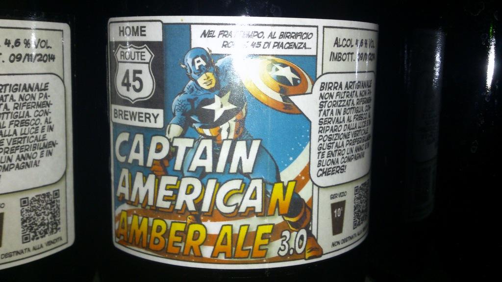 Captain America Amber Ale